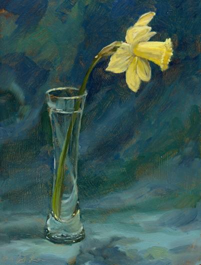 daffodil_in_vase